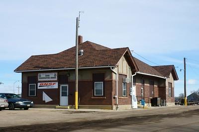 CB&Q depot in MInden, NE.
