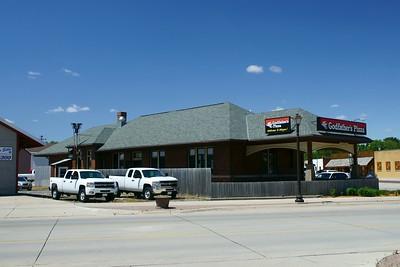 Wayne, NE CMStP&O depot.