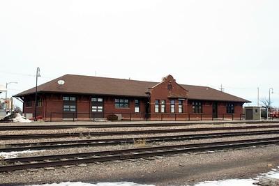 Holdrege, NE CB&Q depot