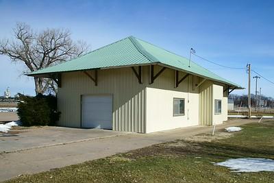 Alma, NE CB&Q depot