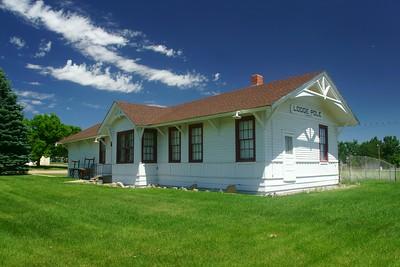 Lodgepole, NE Union Pacific depot.