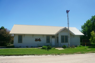 Union Pacific depot in Potter, NE now used as a museum.