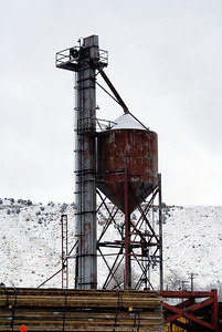 Sanding tower in Helper, UT.