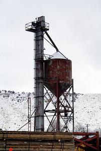 Sanding tower in Helper, UT.