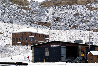 Offices and engine house for the Utah Railway in Helper, UT.