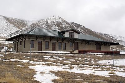 McGill, NV Nevada Northern depot