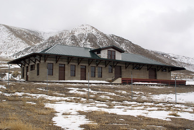McGill, NV Nevada Northern depot
