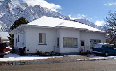Utah - Idaho Central Interurban depot in Willard, UT.