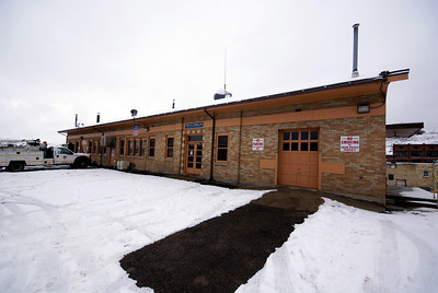 Denver & Rio grnade depot in Helper, UT.  Now used by Amtrak and Union Pacific.