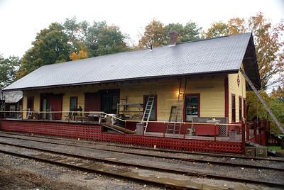 Ashland, NH Boston & Maine freight depot