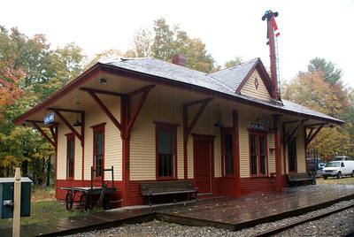 Ashland, NH Boston & Maine depot