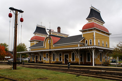 North Conway, NH Boston & Maine depot.  It is now used by the Conway Scenic RR