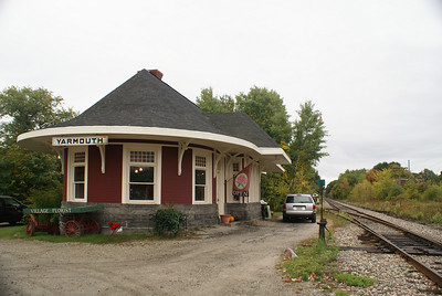 Yarmouth, ME Grand Trunk RR depot
