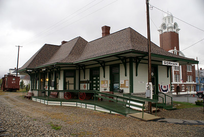 Gorham, NH Grand Trunk RR depot