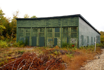 Former Maine Central roundhouse in Bartlett, NH