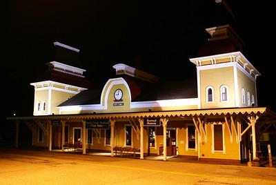 North Conway, NH depot