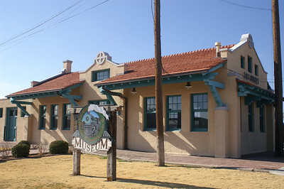 ATSF depot in Las Cruces, NM.