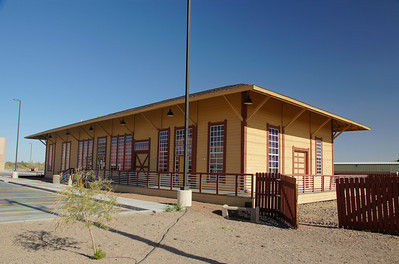 Deming, NM depot.  It was a joint depot used by the Santa Fe and Southern Pacific.