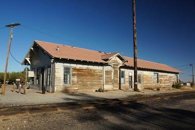 Hurley, NM AT&SF depot.