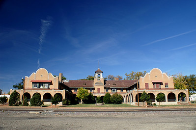 One of Fred Harvey's grand hotel and restaurants built in 1899 can be found in Las Vegas, New Mexico.  It is privately owned as a residence now.