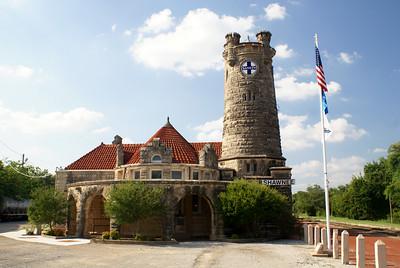A premier Santa Fe depot in Shawnee, OK.  It was  built in 1903.