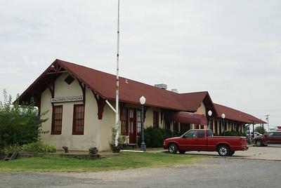 MKT depot in Wagoner, OK