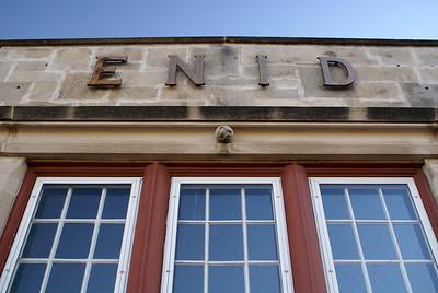 Enid, OK ATSF depot.
