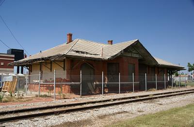 Wichita Falls & Northwestern depot in Altus,OK