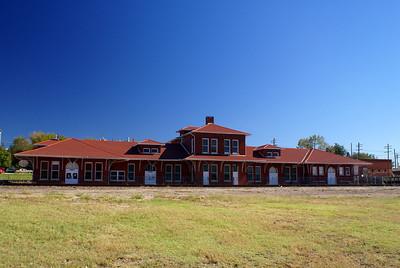Restored Union Station in Guthrie, OK.