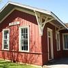 Elgin, OK SL&SF depot now located in Lawton, OK.