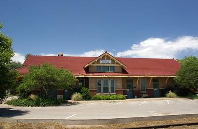 Sayre, OK Rock Island depot