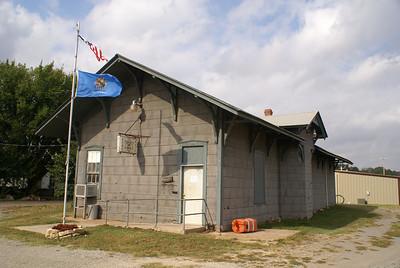 ATSF depot Coyle, OK
