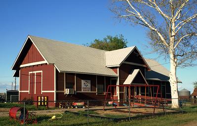 Grandfield, OK Rock Island depot.