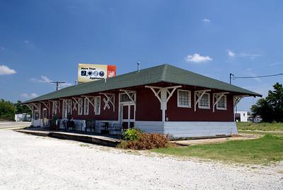 Santa Fe depot in Ada, OK