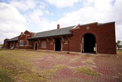 Cushing, OK ATSF depot