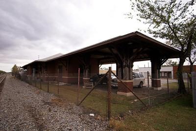 Missouri Pacific depot Nowata, OK