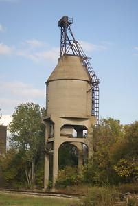MKT coaling tower in Bartlesville, OK.