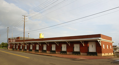 The former Frisco freight depot in Muskogee is now the Oklahoma Music Hall of Fame.