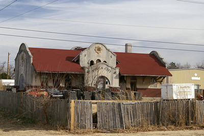 Ponca City, OK Rock Island depot.