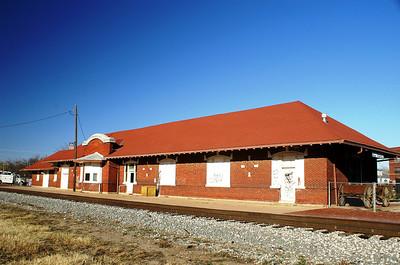 El Reno, OK Rock Island depot.