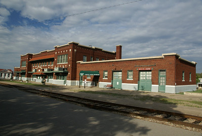 Frisco depot and Harvey House in Hugo, OK.
