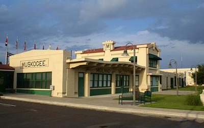 1916 Midland Valley depot in Muskogee, OK.