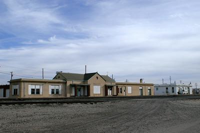 Ponca City, OK ATSF depot.