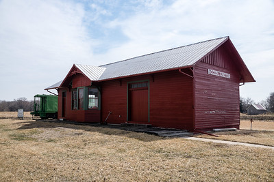 St Joseph & Grand island depot in McCool Jct, NE.  Later acquired by CB&Q.