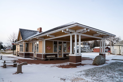 Jefferson, IA Milwaukee depot.