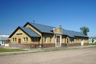 Julesburg, CO Union Pacific depot