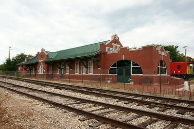 Stillwater, OK Santa Fe depot