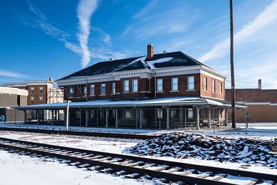 Cherokee, IA Illinois Central depot.