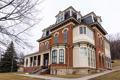 Grenville Dodge House in Council Bluffs, IA.