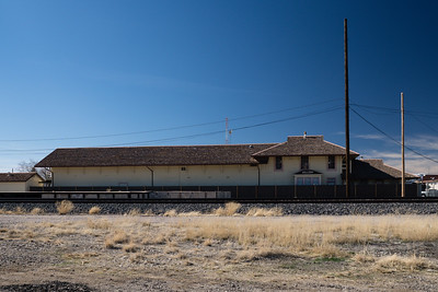 Southern Pacific depot in Willcox, AZ.